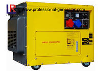All Copper 6.5kva Silent Diesel Generator with Electric starter Vertical Engine