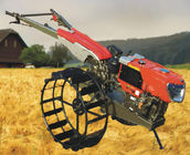 8HP - 14HP Farm Walking Tractor Tillers and Cultivators with Diesel Engine Power , 2 Wheel