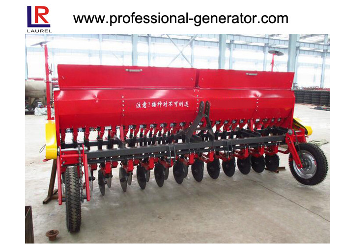60HP Tractor Mounted Rice Planter Machine , 18 Rows Rice Farming Equipment ISO9001
