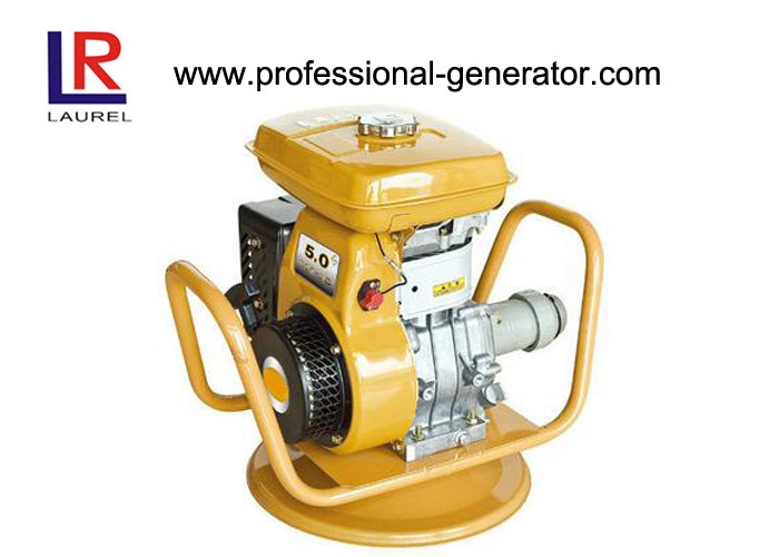 Low Noise Gasoline / Petrol Vibrating Plate Compactor with 45mm Hose Shaft / Recoil Starter