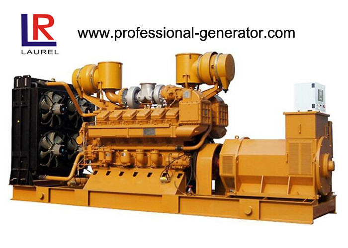 3 Phase 4 Wire Water Cooled 100kw Natural Gas Generators with CHP System