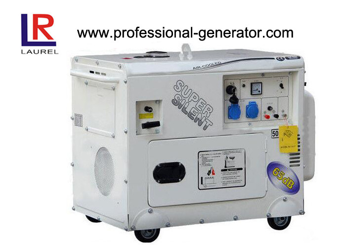 Industrial Copper Alterator Gasoline Generators Set 5KW Air Cooled Single Phase