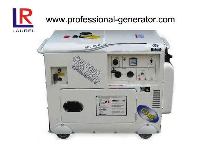 Customizable Portable Gasoline Generators 5kva Super Silent Single Phase