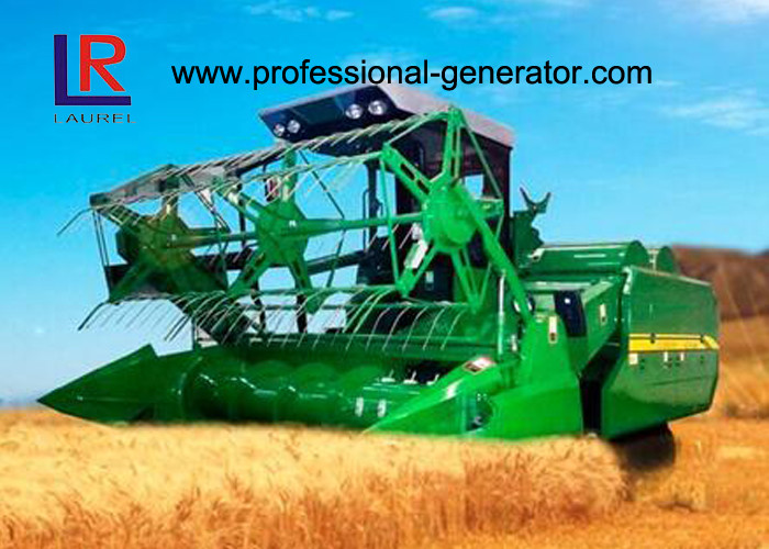 81kw Full Hydraulic Rice Combine Harvester with Water Cooling 4 Cylinder in Line Strong Power Engine