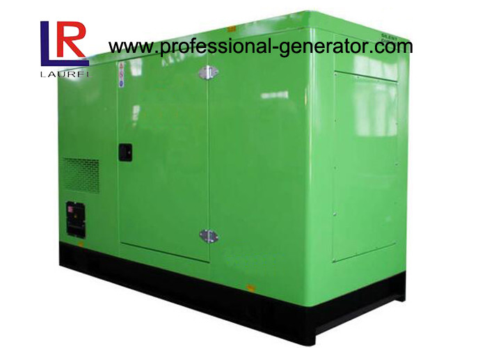 Soundproof 50kVA 40kw Silent Type Generator With Cummins Engine Vertical In - Line