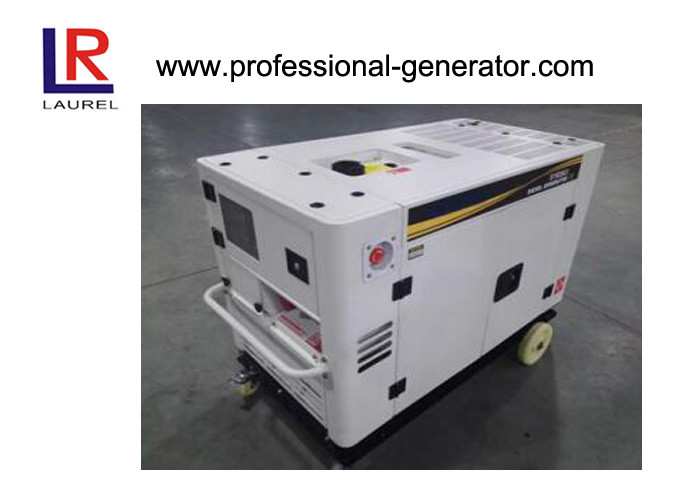 15kw Silent Diesel Generator with V twin 4 stroke water cooled Engine Electric start Three Phase