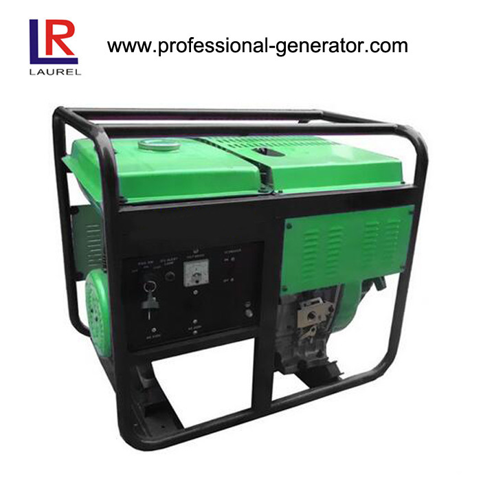 CE Approved 3kw Portable Single Diesel Generator with 178F Air Cooling Diesel Engine