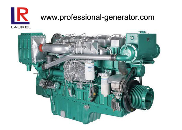 1800rpm Four Stroke 55kW 75HP Marine Diesel Engine with Binary Cooling , Turbocharger Aspiration
