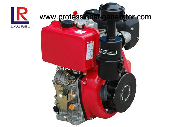 Strong Power Air Cooled 14HP Diesel Engine with Pressure Splashed Vertical 4 - stroke