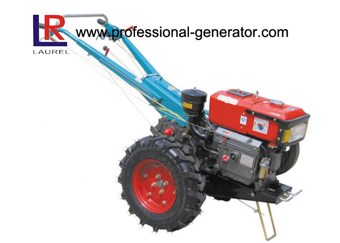 Agriculture Machine 12HP Mini Hand Walking Tractor with Diesel Engine , 2WD Widely Use