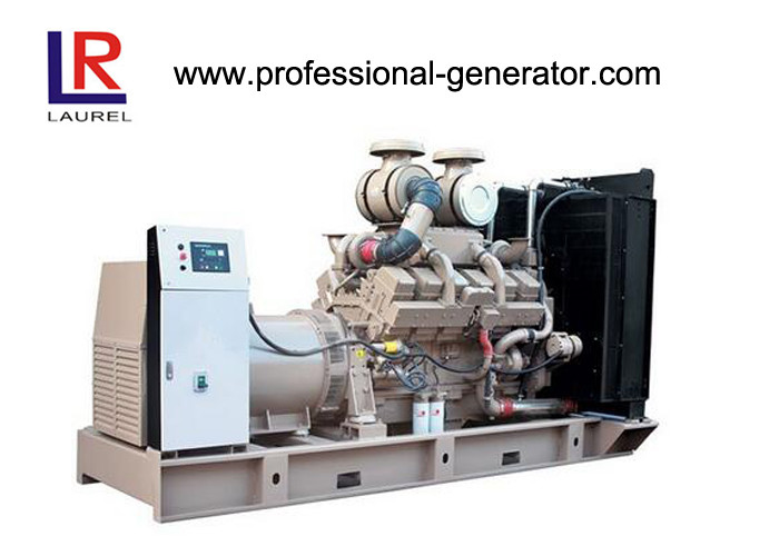 Diesel Power Water Cooled Cummins Diesel Generator 1375kw CE Certificate 1718kVA