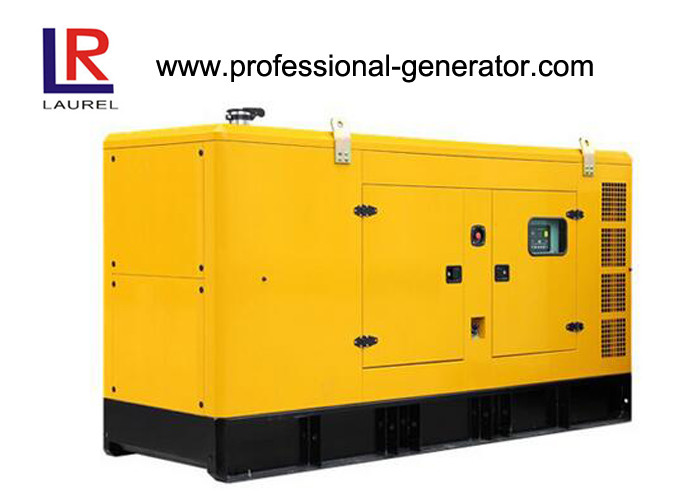 60HZ Super Quiet Diesel Generators 130KVA Soundproof Type With Stamford Alternator