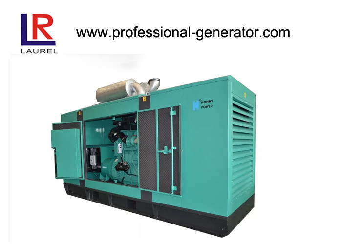 Three Phase Open Type Generator 440/500kVA  with Air-cooled 448kw Diesel Engine